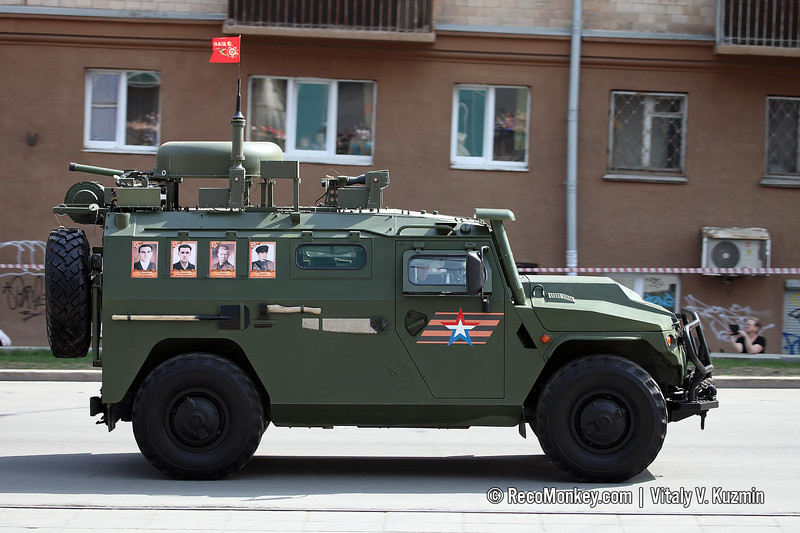 P-230T command and signal vehicle