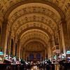 Studying at Boston Public Library