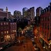 Juxtaposition of Boston