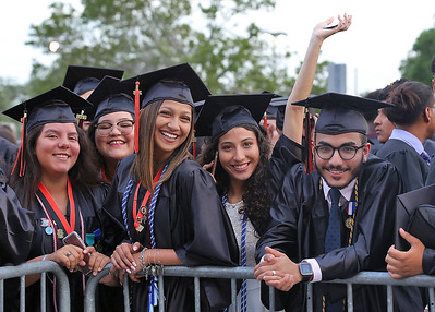 051718 - WEST PALM BEACH - John I. Leonard High School graduation at The South Florida Fairgrounds on Thursday, May 17, 2018. Photo by Tim Stepien.