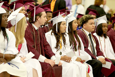 051618 - WEST PALM BEACH - Lake Worth Community High School graduation at The South Florida Fairgrounds on Wednesday, May 26, 2018. Photo by Tim Stepien.