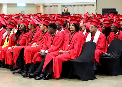 051618 - WEST PALM BEACH - Santaluces Community High School graduation at The South Florida Fairgrounds on Wednesday, May 26, 2018. Photo by Tim Stepien.