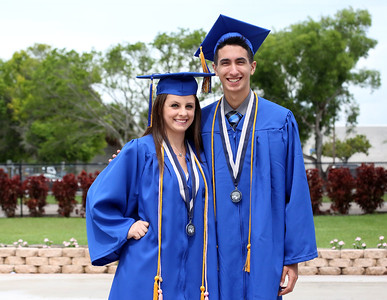 051718 - WEST PALM BEACH - Wellington Community High School graduation at The South Florida Fairgrounds on Thursday, May 17, 2018. (Tim Stepien/The Palm Beach Post)