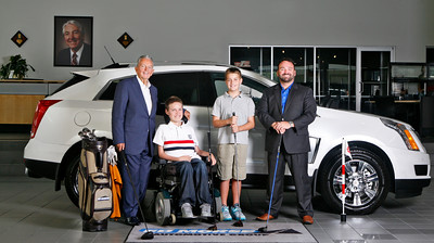 Cover Photo- From left: President/CEO of Ed Morse Automotive Group Ted Morse, Thomas, Brayden, and Director of Advertising and Marketing of Ed Morse Automotive Group, Teddy Morse. (Photo by Tim Stepien)