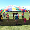 It was thrills and squeals at the parachute sponsored by the Ted K. Center and the Plattsburgh Housing Authority. (ROBIN CAUDELL/STAFF PHOTO)