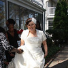 Susanne, from Lorain waiting to go into Linwood's church and join Mr. Tudor in marriage.