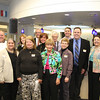 Rev. Dave Johnson, Mary Warden B, Janet Springer, Lyn Blackman B, Jim Liljegren B, Nancy Gibbons B, Lynda Wakefield B, Rev L Bertoni, Tammy Martin, Corresponding Secretary, Tim Rini, Rick Van Den Bossche B and Janet Ford, Director, Ritter Library.<br /> <br /> B = Board of Trustee member