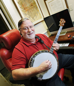 Jackson attorney Ron Welch has been an avid musician since his high school days, and currently plays in a jazz band with a group of local musicians.