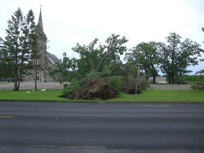 June 2013 storm damage