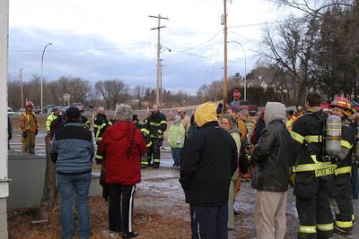 Kingston Apostolic Lutheran Church burn