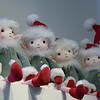 TIM JEAN/Staff photo <br /> <br /> Elves sit on a shelf as well as other soft figures for sale during small business Saturday at Helen Thomas Simply Smashing in Andover. The store is set up a temporary in a new location on Post Office Avenue due till a water leak in its Main Street store.          11/30/19
