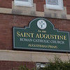 TIM JEAN/Staff photo<br /> <br /> St. Augustine's Church in Andover. Rev. Peter Gori of St. Augustine's Church has been placed on administrative leave, effective immediately, following an allegation of sexual abuse of a minor, the Roman Catholic Archdiocese of Boston announced Tuesday.   4/9/19