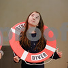 """MIKE SPRINGER/Staff photo<br /> Fourth-grader Skylar Olsen rehearses a scene in the play """"Honk! Jr."""" at South School in Andover. The musical will be presented to the public on Friday and Saturday, March 15 and 16, at 7 p.m. and Sunday, March 17, at 1 p.m. Tickets are $10.<br /> 3/7/2019"""