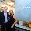 George and Elizabeth Morris, owners of Sola Salons in  Andover and Salem Ma. held a grand opening in their Andover Salon on Main Street Friday night. Sola Salons are unique because each stylist controls their own suite within the salon. 11/22/2019