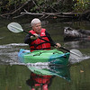 MIKE SPRINGER/Staff photo<br /> John Denison of Andover paddles a kayak during the 2nd Annual Andover Scramble on Sunday. <br /> 10/06/2019