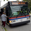 TIM JEAN/Staff photo<br /> <br /> The City of Lawrence is paying the MVRTA to run three free bus routes within the city, for the next two years.    9/10/19