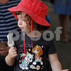 MIKE SPRINGER/Staff photo<br /> Three-year-old Lillian Wise of Methuen enjoys an ice cream bar during the annual Greek Festival on Sunday at Sts. Constantine and Helen Greek Orthodox Church in Andover. <br /> 9/8/2019