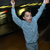 CARL RUSSO/Staff photo.  Max Taylor, 8 of Andover dances at the party. The Andover/North Andover YMCA held a family dance party Friday night. Around 25 boys and girls and parents enjoyed pizza, music and fun.2/21/2020.