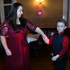 CARL RUSSO/Staff photo Liz Guschov dances with her son, David, 7. The annual Valentine's Dance sponsored by Andover's Department of Recreation was held Friday night at the Town House (Old Town Hall) <br /> <br /> The event is held for boys ages 4-10 for moms to celebrate Valentine's Day with the special little guy in their life. <br /> <br /> An evening of dance with music provided by Ted Entertainment DJ, Ted Teichert of Andover was provided along with games, prizes, and refreshments. 2/7/2020.