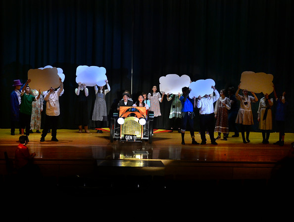 CARL RUSSO/Staff photo The Wood Hill Middle School Drama Club will present  the musical Chitty Chitty Bang Bang on Friday, February 7th. at 7 pm and Saturday, February 8th. at 2 pm. Tickets are $10.00 in advance and $12.00 at the door.  1/31/2020