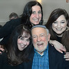 CARL RUSSO/Staff photo Max Perlitsh of Winchester is having fun with his daughter, Rachel Perlitsh Turner, top, of Andover and her friends, Karen Shapiro, left, of Pelham NH and Gitit Shoval of Framingham at the 25th. Anniversary Pulpit Exchange service and dinner between Temple Emanuel and South Church. <br /> <br /> The event was held on Friday, January 31, at Temple Emmanuel. Over 100 people from both congregations attended the service of faith followed by a  Mediterranean Feast and social event.  <br /> <br /> Rabbi Robert Goldstein of Temple Emanuel in Andover and Reverend Dana Allen Walsh, Senior Pastor at South Church in Andover  once again, and for the 25th time participated in their annual Pulpit Exchange…and for retiring Rabbi Goldstein it will be his final Pulpit Exchange. <br />  <br /> Rabbi Goldstein started this event  27 years ago in conjunction with Andover's 350 anniversary that year. Temple Emanuel was a new congregation at the time and thought an event like this would bring the community together however they worship. 1/31/2020