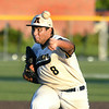 CARL RUSSO/staff photo Andover's winning pitcher, Arvin Nunez. Andover defeated Haverhill 2-1 in baseball action.  8/6/2020