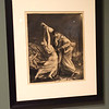 TIM JEAN/Staff photo <br /> <br /> The Drunk 1923-4 by George Bellows a Lithographic Crayon on Paper one of several pieces in the show Man Up! Visualizing Masculinity in 19th-Century America in the Addison Gallery of American Art in Andover.     2/4/20