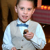 CARL RUSSO/Staff photo  Colton Hamilton, 5 discovered the cupcakes. The annual Valentine's Dance sponsored by Andover's Department of Recreation was held Friday night at the Town House (Old Town Hall) <br /> <br /> The event is held for boys ages 4-10 for moms to celebrate Valentine's Day with the special little guy in their life. <br /> <br /> An evening of dance with music provided by Ted Entertainment DJ, Ted Teichert of Andover was provided along with games, prizes, and refreshments. 2/7/2020.
