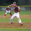 TIM JEAN/Staff photo<br /> <br /> North Andover's Trey Martin throws a pitch against Andover in District 14 Little League Championship title game on Tuesday evening.     7/13/21