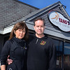 CARL RUSSO/staff photo. Yang's Fitness and Training Center in Andover, own by Diana and Alex Kiesel is closing because of the pandemic. 10/7/2020