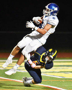 Methuen defeated Andover 51-21 in Thursday night football action.