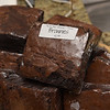 TIM JEAN/Staff photo  <br /> <br /> Giant Homemade Brownies at Rig a Tony's Italian take-out in Derry. They now has a restaurant in Windham. 4/1/20