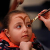 MIKE SPRINGER/Staff photo<br /> Five-year-old Delilah D'Anna holds still while having her face painted during the Frost Festival on Sunday at the Alexander Carr Park Lodge in Derry.<br /> 2/10/2019