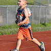 CARL RUSSO/Staff photo Cody Hunt, 3 of Londonderry competes in his race. <br /> <br /> The 45th year for  the Greater Derry Track Club's annual summer Fun Runs for kids of all ages. The event is held at the Londonderry High School track. 7/01/2019