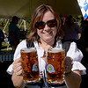 TIM JEAN/Staff photo<br /> <br /> Derry Rotarian Susan Ochoa, RE/MAX Innovative Properties in Londonderry was in the festive spirit during the Derry Village Rotary Club's second annual Oktoberfest. The event was held at the Boys & Girls Club of Greater Derry.    10/5/19