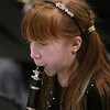 MIKE SPRINGER/Staff photo<br /> Freyja Renouf plays the clarinet during a 5th grade winter band concert last Wednesday at Derry Village Elementary School. <br /> 1/19/2020