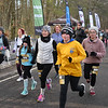 CARL RUSSO/staff photo. Runners of all ages approach the finish line.  <br /> <br /> The 21st. Annual New Year's Day Millennium Mile road race was held on New Year's Day at Londonderry high. 1/1/2020.