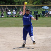 TIM JEAN/Staff photo<br /> <br /> Salem's Madison Solt winds up to throws a pitch during the D1 Softball quarterfinal game against Londonderry. Salem won 10-2.   6/5/21