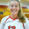 CARL RUSSO/Staff photo. Pinkerton Academy <br /> volleyball player, junior, Ella Koelb. 10/01/2020