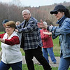 TIM JEAN/Staff photo<br />   <br /> Guests and members of the Oriental Healing Arts Association of Plaistow perform Tia Chi as they celebrated World Tai Chi and Qugong Day at the Tattersall Farm in Haverhill. 4/28/18