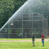 AMANDA SABGA/Staff photo<br /> <br /> Kids cool down during the Haverhill Recreation Department's summer camp annual field day at Riverside Park.  <br /> <br /> <br /> 8/7/18