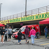 AMANDA SABGA/Staff photo<br /> <br /> Shoppers walk around on opening day of the Haverhill Farmer's Market in downtown Haverhill. <br /> <br /> 6/23/18