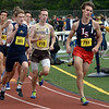 CARL RUSSO/Staff photo Haverhill's Keith May captured 4th. place in the 800 meter race. East Mass. Div. 1 boys and girls  track meet was held at Andover High school Monday afternoon on May 28.  5/28/2018