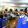 CARL RUSSO/Staff photo GAZETTE: The Merrimack Valley Chamber of Commerce held their annual 2019 dinner and award ceremony. The event, held at DiBurro's Function Facility  Wednesday night, featured Massachusetts Governor, Charlie Baker as the guest speaker. 10/02/2019