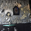 """TIM JEAN/Staff photo<br /> <br /> Hand painted walls that feature the restaurants trademark """"Day of the Dead"""" walls and decor at Barrio Tacos restaurant at Harbor Place in Haverhill.  7/30/20"""