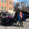 ALLISON CORNEAU/Staff photo<br /> Hunking School fifth grader Jacob Ryan-Smith enjoys a photo op with Batman.