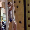 TIM JEAN/Staff photo <br /> <br /> Bria Healy, 11, of Brentwood, swings and climbs her way through the Ultimate Ninja obstacle course at the Plaistow Community YMCA.     2/22/20