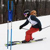 CARL RUSSO/staff photo. Haverhill's Nora Hess. Ski teams from Andover, Haverhill and North Andover competed in North Shore Ski League meet on Monday, February 10 at Bradford Ski. 2/10/2020.