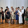CARL RUSSO/Staff photo. GAZETTE:  Couples attending the gala dressed in Roaring Twenties style. Career Resources Corp. in Haverhill held a major fundraiser on March 23rd. Cheers to 50 Years Spring Fling Gala was celebrated at the Castleton Banquet facility in Windham N.H 3/23/2018