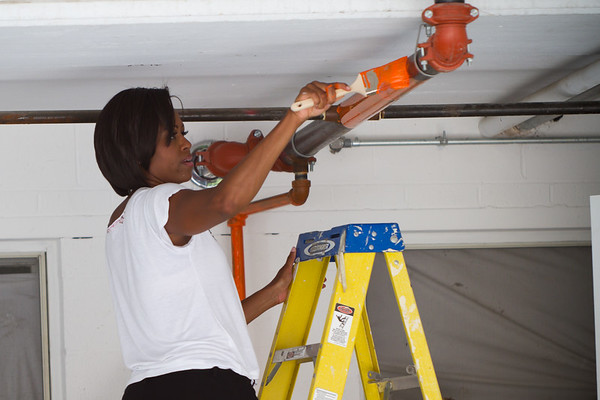 First Lady Michelle Obama Volunteers on 9/11 Day of Service and Remembrance - September 2010